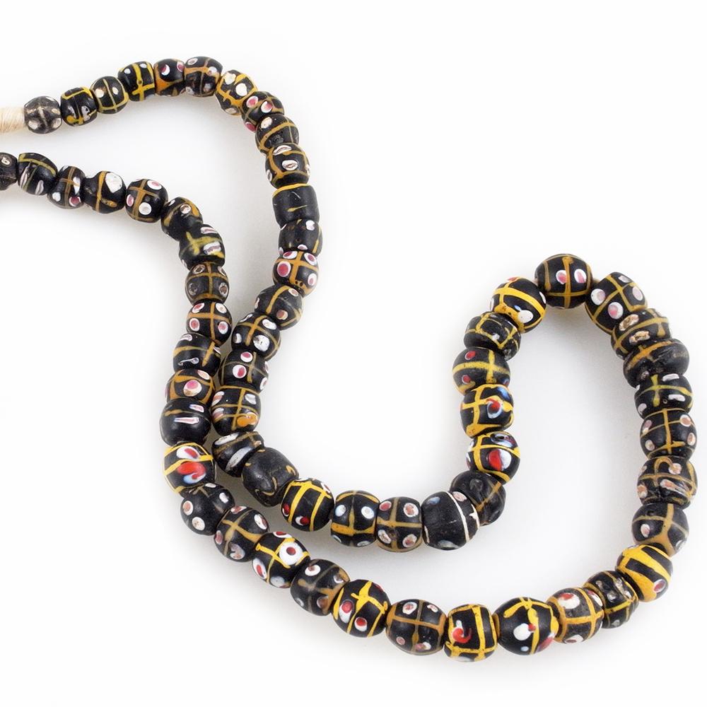 Antique Matched Venetian Glass Trade Beads Strand Kazaart
